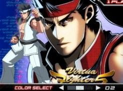 Dengeki Bunko Fighting Climax - Bles x Akira 08