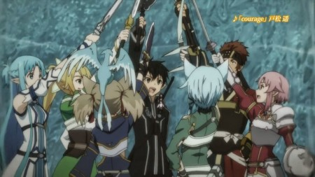 SAO II Calibur Arc Anime Xis