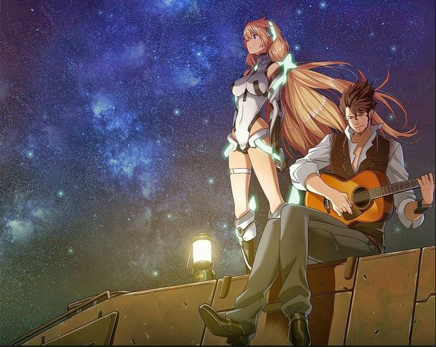 Expelled from paradise - anime