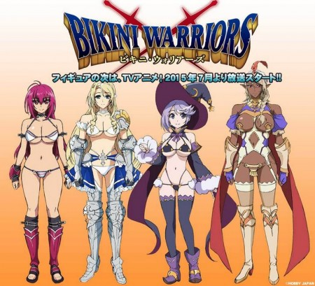 Bikini Warriors - anime visual