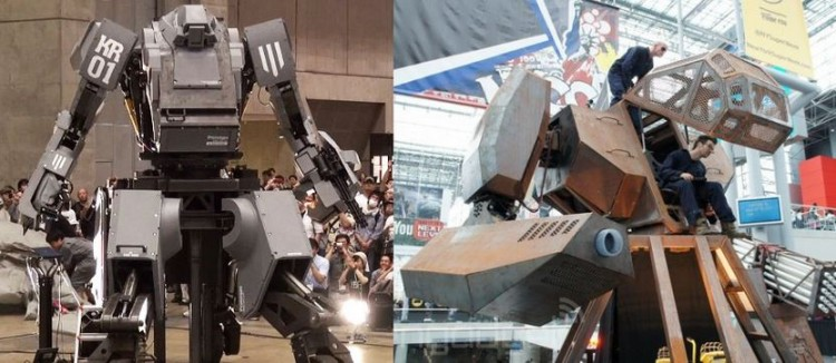 Challenge Accepted! GIANT ROBOT - USA vs JAPAN