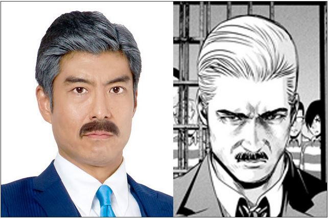 Prison School - elenco live-action - president