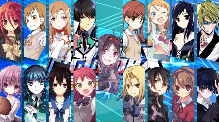 Dengeki Bunko Fighting Climax IGNATION - characters