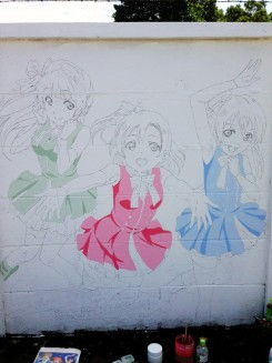 Love Live - mural history 15
