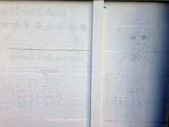 Love Live - mural history 16