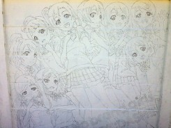 Love Live - mural history 17