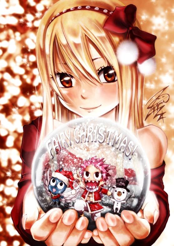 Fairy Tail irá receber anime especial de Natal! » Anime Xis