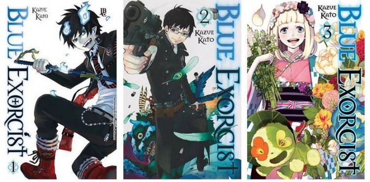 Ao no exorcist - manga