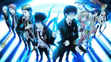 ao no exorcist - anime