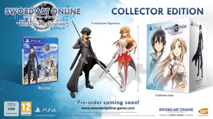 Sword Art Online Hollow Realization - collector edition
