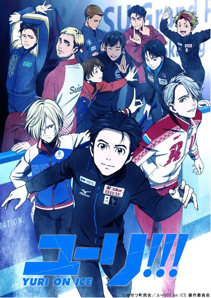 Yuri!!! on Ice - visual