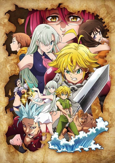 Nanatsu no Taizai Wrath of the Gods