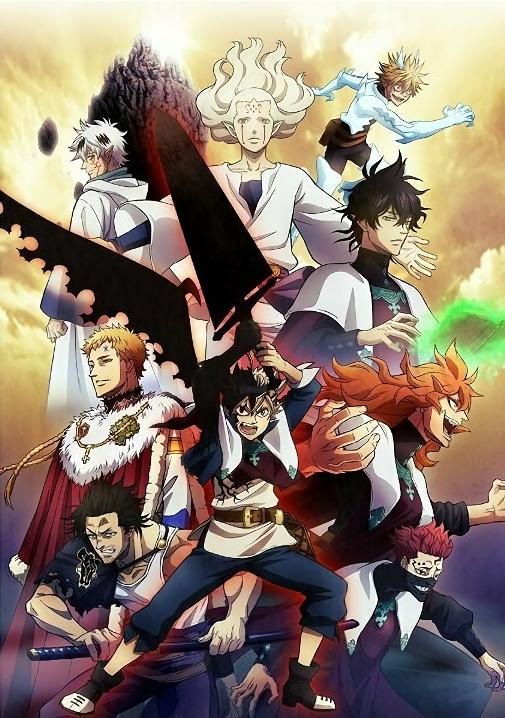 Anime Xis - Black Clover