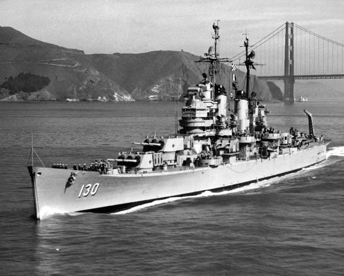 Cleveland - navio guerra