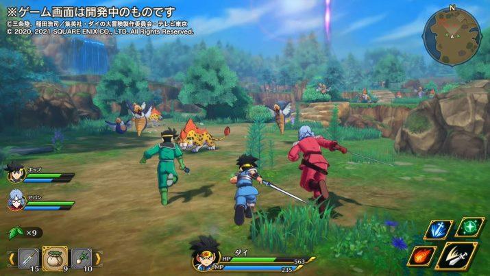 Dragon Quest: The Adventure of Dai : A Hero's Bonds